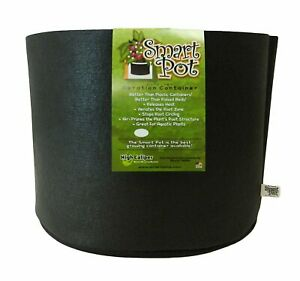 Smart Pots 7 to 200 Gallon Soft-Sided Container, Black