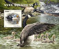 Guinea-Bissau - 2018 Water Birds - Stamp Souvenir Sheet - GB18504b