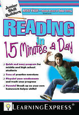 Reading in 15 Minutes a Day: Junior Skills Builder by Learning Express Editors