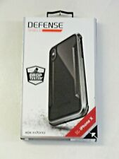 NEW X-Doria Defense Shield Cover for iPhone X Black
