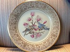 "Lenox American Bird Plate - ""Mountain Bluebird""- Signed Boehm - Mint - No Box./"