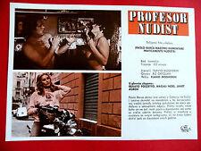 PAOLO BARCA NUDISTA 1975  JANET AGREN PINUCCIO ARDIA BORBONI  EXYU MOVIE PROGRAM