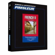 Pimsleur Learn/Speak FRENCH Language Level 2 CDs NEW!!