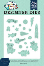 Echo Park Imagine That Boy ~ YOU'RE AMAZING ~ Designer Dies Set Play Animals