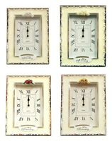 25th 30th 40th 50th Wedding Anniversary Gifts Table Clock Silver Pearl Ruby Gold