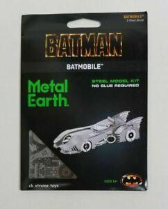 Fascinations Metal Earth BATMOBILE 1989 Steel Laser Cut 3D Model Kits Batman