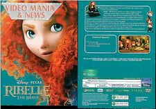 RIBELLE THE BRAVE DISNEY DVD ANIMAZIONE EDIZIONE CARTONATA (SLIP COVER)