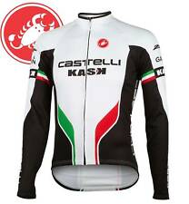 Castelli Servizio Corsa Men's Thermal Long Sleeve Jersey Size S-XXXL.