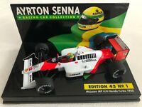 1988 Ayrton Senna | Mclaren Honda MP4/4 Turbo | LANG Diecast Model F1 Car 1:43