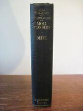 1st thus FORTUNES MISFORTUNES OF MOLL FLANDERS Daniel Defoe CLASSIC Bibliophist