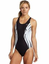 Sugoi Typhoon Swim Racer Ladies Swimsuit - Black - Choose Size: