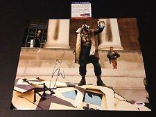 Tom Hardy BANE The Dark Knight Rises Batman Signed Auto 11x14 PHOTO PSA/DNA COA
