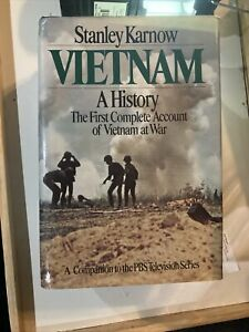 Vietnam : A History by Stanley Karnow (1983 Hardcover)