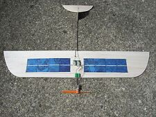 "RC ""Sol Simple"" SOLAR cell airplane Park Flyer Slow Flyer powered glider plans"