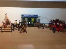 Playmobil 4431 Sheriff's Office Cowboys Indians Western Set Boxed  Instructions