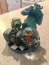 RARE! Disney Pixar Monsters Inc. Mini Snow Globe Sully Boo Mike