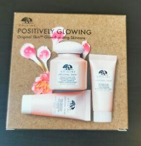 Origins Positively Glowing Skin Set - glow boosting skincare