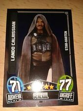 Force Attax Star Wars Serie Movie 3 Star-Karte 209 Lando Calrissian Sammelkarte