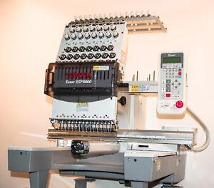 Toyota ESP9000 embroidery machine Japan Tajima made cap system plus more