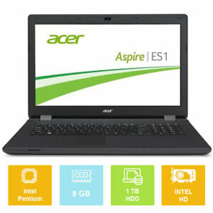"17.3"" Acer Aspire ES1-711, Intel up to 2.66GHz, 1TB, 8GB, Intel HD, Laptop"