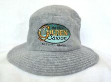 *THE NEW GOLDEN SALOON McCARTHY ALASKA* Fuzzy Bucket HAT *OURAY SPORTSWEAR*