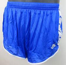 Puma Vintage 80s 1980s Shorts Blue Running Nylon Vtg West Germany Shiny Mens XL