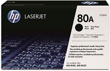 HP CF280A 80A PRO 400 M401 400 MFP M425 Toner, Sealed In Retail Box