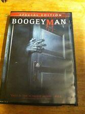Boogeyman (DVD: 1, 2005) Horror,SE, WS. Starring Barry Watson, Emily Deschanel