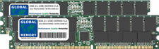 4GB 2x2GB DDR 400MHz PC3200 184-PIN ECC RDIMM REGISTRATA SERVER DI MEMORIA RAM KIT