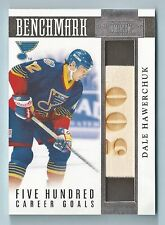 DALE HAWERCHUK 2010/11 PANINI DOMINION BENCHMARK GAME USED STICK /50