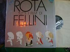MINT OST LP~N ROTA~TUTTI FILM DI FELLINI~on CAM~SAVINA~~HEAR YOUTUBE
