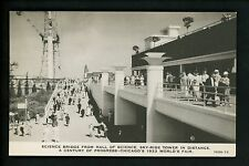 World's Fair postcard Chicago 1933 IL C.R. Childs Co. Hall of Science 7056-73