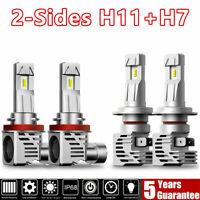 LED Headlight Bulb Kit H7+H9 H11 H8 Bulbs Combo Lamp for Holden VE Commodore AU