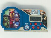 Marvel Avengers Assemble Night Glow Alarm Clock Hulk Iron Man Captain America