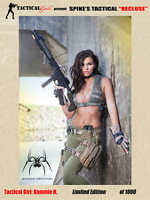 2017 Tactical Girls Kammie H. Spike's Recluse Signed Poster
