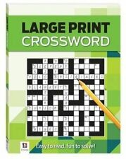 Crossword Large Print Puzzles Series 4 by Hinkler Books (Paperback, 2014)