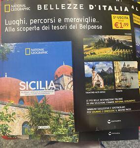 BELLEZZE D'ITALIA NATIONAL GEOGRAPHIC Vol.1 Sicilia