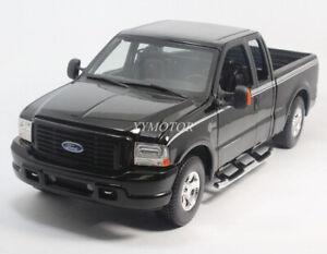 Maisto 1/18 Ford Raptor Pickup F-350 Diecast Model Car Kids Toys Gifts Black