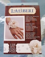 New Laliberi Chiffon Pearl Bracelet Fun Activity Jewelry Craft Kit