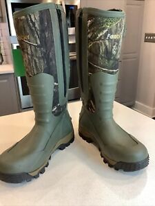 Rocky Men's RKS0578 Sport Pro Insulated Rubber Boots Camo 9M