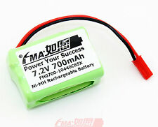 Remote Controlled Helicopter Ni-MH Battery 7.2V 700mAh For Model Plane Toys US