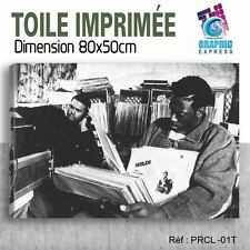 80x50cm - TOILE IMPRIMÉE TABLEAU POSTER - PETE ROCK CL SMOOTH - PRCL-01