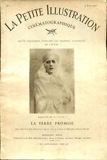 La Petite Illustration Cinématographique N°1 - La terre promise - 4 avril 1925