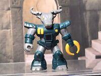 Battle Beasts Figure Roamin' Buffalo #10 w Rub Sign Hasbro 10