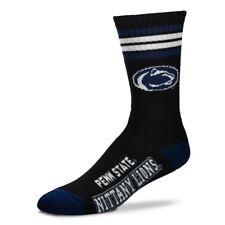 476a656a6ce Penn State Nittany Lions Men s For Bare Feet Black Deuce Socks Large (10-13