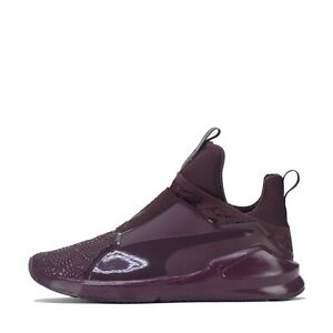 Puma Fierce Kurim Women's Trainers Shoes Purple Plum UK 3.5
