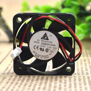 1pc Delta ASB0412HA 12V 0.10A 4CM 4010 2-wire Mute Cooling Fan