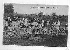 CPA Guerre 1914 1918. Camp de Coëtquidan. Les lavoirs.