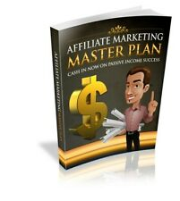 NEW Affiliate Marketing Master PlanE BOOK PDF WITH RESELL RIGHTS DELIVERY 12hrs