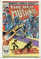 The New Mutants #2 NM   Marvel Comics CBX8A